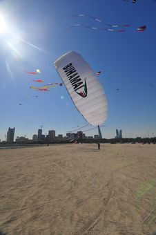 Free Buhamad Kites Team Stock Photography - 8676272