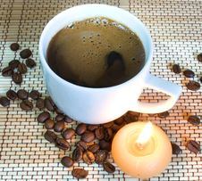Free Cup Of Coffe Stock Photos - 8676863