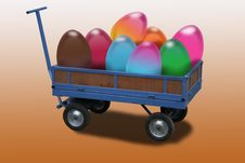 Free Easter Chariot Royalty Free Stock Photos - 8677338