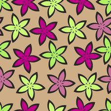 Free Stylized Flowers Royalty Free Stock Image - 8678496