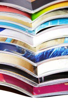 Free Opened Magazines Stock Photography - 8678662