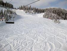 Free Snow Resort Royalty Free Stock Photo - 8679125