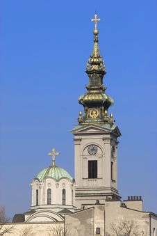 Free Church Tower Royalty Free Stock Images - 8679449