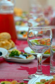 Free Diner Table Stock Image - 8679981
