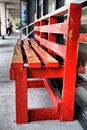 Free Red Bench Stock Photos - 8681193