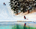 Free Winter Sledding Stock Image - 8682621