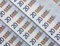 Free 20 EURO Bill Stock Image - 8685991