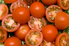 Free Tomato Salad Closeup Royalty Free Stock Photography - 8680007