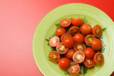 Free Healthy Salad On The Plate Stock Photography - 8680032