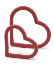 Free Heart Cookie Cutters Royalty Free Stock Photography - 8680827