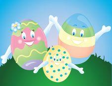 Free Easter Egg Family Stock Images - 8680914