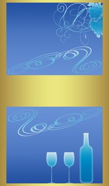 Free Wine List (03) Royalty Free Stock Photography - 8681007