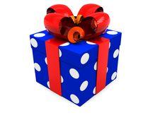Free Present Box Royalty Free Stock Image - 8681586