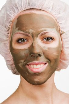 Facial Mask Royalty Free Stock Images