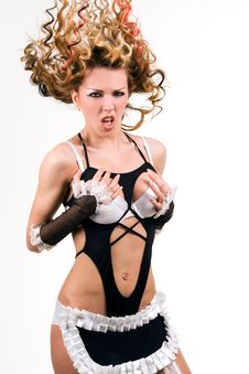 Free Lingerie Set Stock Photography - 8684802