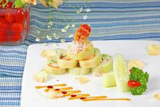 Free Chef S Special Sushi Roll Stock Photo - 8685030
