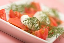Free Salmon Hor D Oeuvre Royalty Free Stock Photos - 8686408