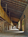 Free Arcades In The Monastery Of Lluc, Mallorca, Spain Stock Photography - 8690862