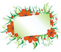Free Floral Frame Card Royalty Free Stock Image - 8692476