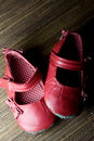 Free Worn Baby Girl Shoes Royalty Free Stock Images - 8693459
