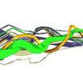 Free Volumetric Stripes 02 Stock Photo - 8696640