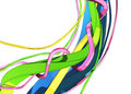 Free Volumetric Stripes 03 Royalty Free Stock Image - 8696646