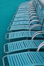 Free Deckchairs Royalty Free Stock Photo - 8698205