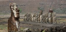 Free Easter Island Royalty Free Stock Photography - 8691317