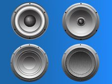 Free 4 Loudspeakers 5 Stock Images - 8692194