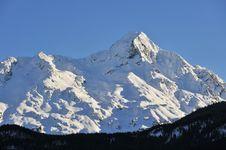 Free Winter Alpes Royalty Free Stock Photo - 8692225