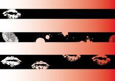 Black Grunge Strips 3 Royalty Free Stock Photo