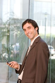 Free Portrait Of Confident Smiling Business Man Stock Photo - 8692550