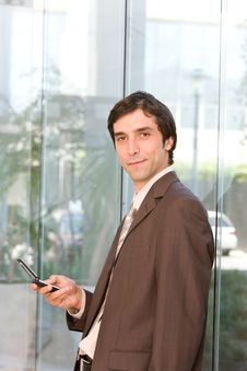 Free Portrait Of Confident Business Man Stock Photos - 8692563