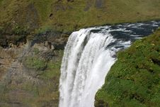 Free Top Of A Large Waterfall Stock Photo - 8692810