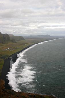 Free Typical Icelandic Beach Stock Photos - 8692913