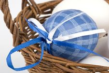Free Easter Eggs In A Basket Stock Photo - 8693120