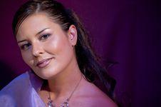 Free Violet Model Stock Images - 8693444