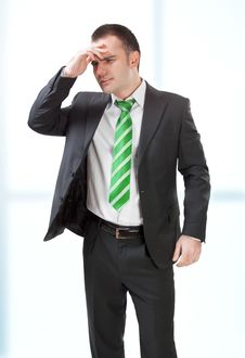 Free Stressed Businessman Royalty Free Stock Image - 8693626