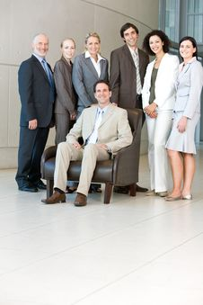 Team Of Business People Royalty Free Stock Images