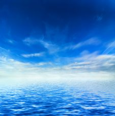 Free Idyllic Sea Stock Image - 8693791