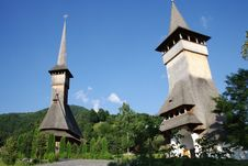 Free Monastery In Romania Royalty Free Stock Photography - 8694297