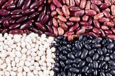 Free Background Of Haricot Beans Royalty Free Stock Photography - 8694337