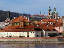 Free St. Nicholas  Cathedral In Prague Stock Image - 8695001