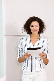 Free Portrait Of Attractive Business Woman Stock Image - 8695051