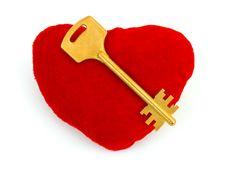 Free Heart And Key Stock Photo - 8696700