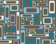 Retro Rectangles Background Royalty Free Stock Photos