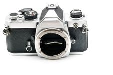 Free Lensless SLR Film Camera Royalty Free Stock Photography - 8697397