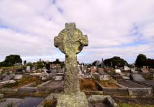 Free Cemetery With Cross Stock Image - 8698071