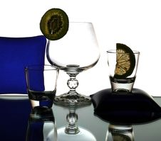 Free Liquor-glasses Royalty Free Stock Photos - 8698168