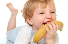 Free Banana Boy Royalty Free Stock Photos - 8698678